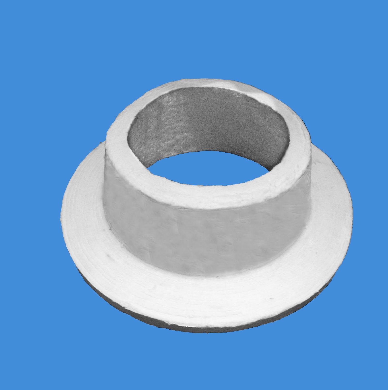 Ceramic fiber ring